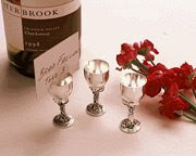 Wine Goblet Placecard Holder