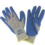 RUBBER-COATED PALM GLOVE..