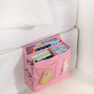 Things In Pink Bedside Storage Caddy