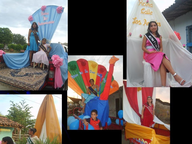 EN LA FOTO: MERLI ARANDA, SANDRA GARCIA, OLENKITA CARRASCO, TAMARA NOLE Y ANA CLAUDIA SILVA