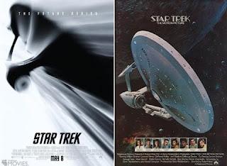 Star Trek Ships Poster