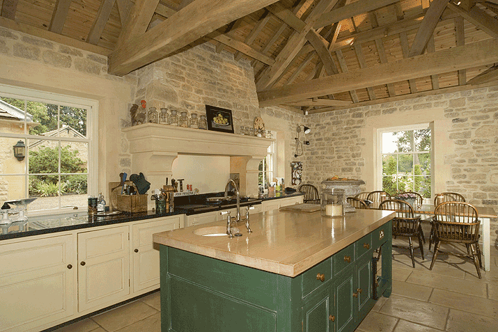 Kitchen design country kitchen design ideas for Country interior designs
