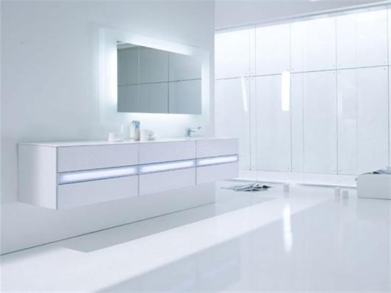 Bathrooms Black and White - Vela Bathroom in Black & White by Rexa title=