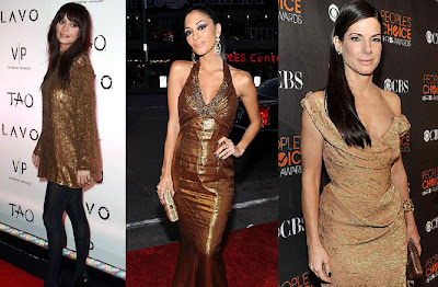 Sandra Bullock Nicole Scherzinger Nicole Richie fashion image