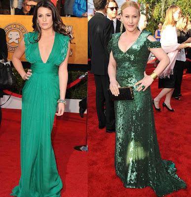 SAG Lea Michele and Patricia Arquette
