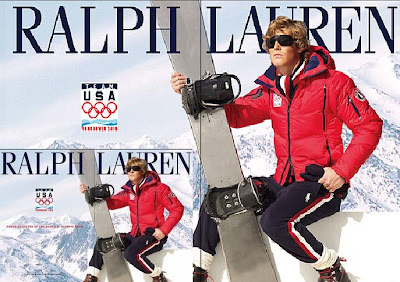 Ralph Lauren at 2010 Winter Olympics Team USA Clothing