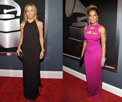 2010 Grammy Sheryl Crow and Mary Blige