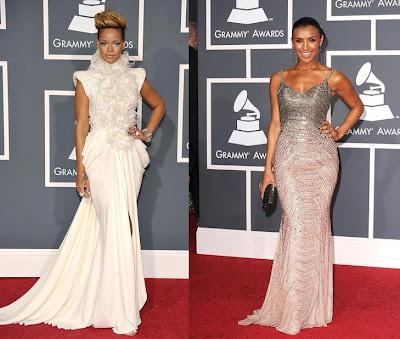 2010 Grammy Rihanna and Melody Thornton