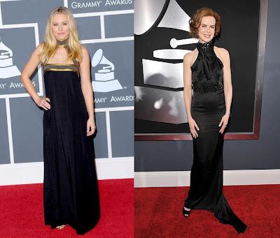 2010 Grammy Kristen Bell and Nicole Kidman