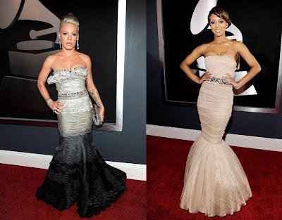 2010 Grammy Pink and Keri Hilson