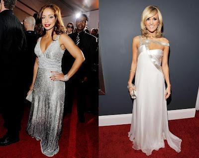2010 Grammy Mya and Carrie Underwood