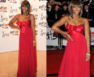 Alexandra Burke Brit Awards