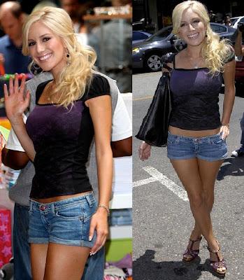 Heidi Montag Jeans Short