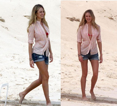 Doutzen Kroes Jeans Short