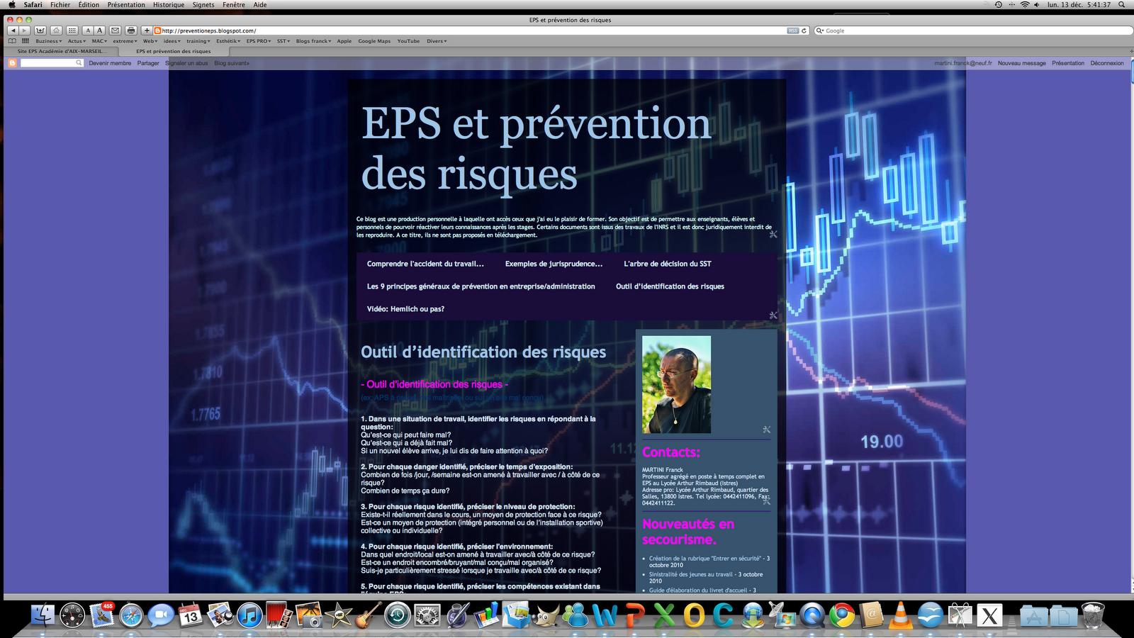 Blog du prof SST EPS et prévention des risques
