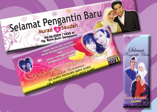 Banner & Banting Kahwin