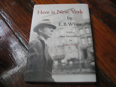 eb white essay about new york Get an answer for 'in the essay here is new york, what does e b white mean by new york is a permanent exhibit of the phenomenon of one world is this claim as true today as it was in white's time explain ' and find homework help for other e b white questions at enotes.