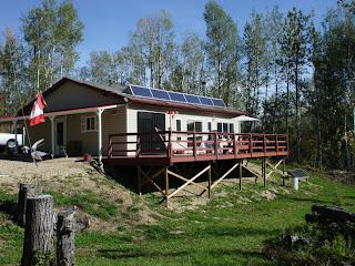 Solar Powered Cabin