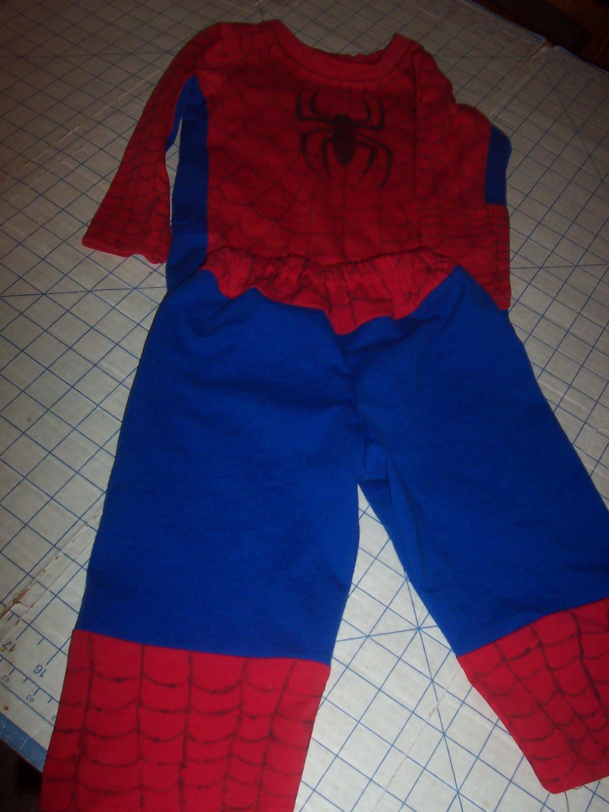 Frugal sewing last minute spiderman costume last minute spiderman costume jeuxipadfo Images