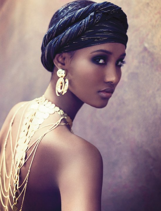 Somali Model - Fatima Siad