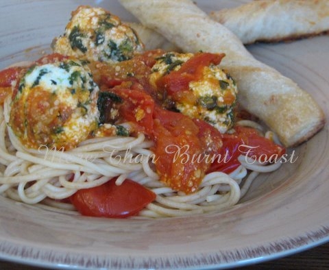 """more than burnt toast: A Recipe for Gnudi or """"Naked ..."""