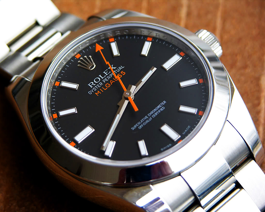 Rolex explorer 1 milgauss singletrack magazine for Rolex milgauss