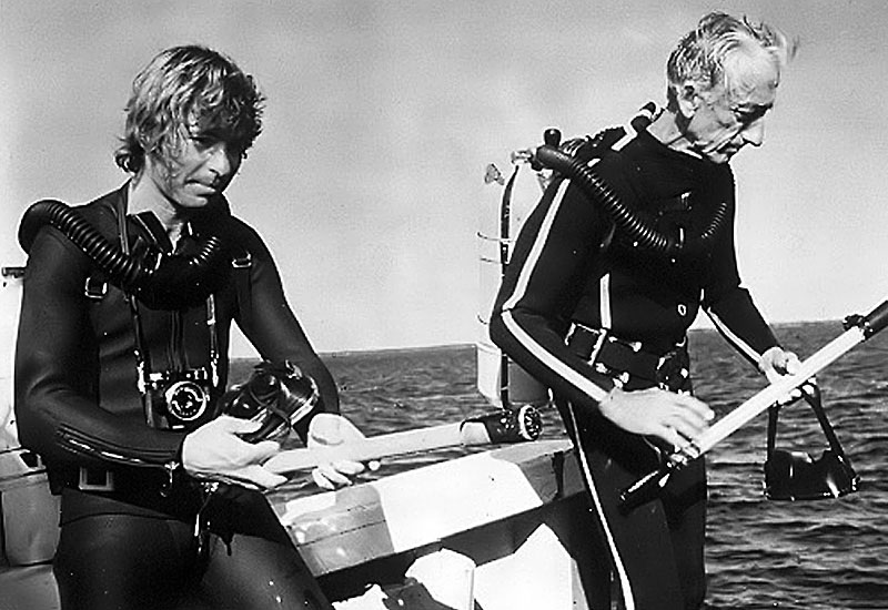 to the Cousteau Society. John also performed concerts and donated the