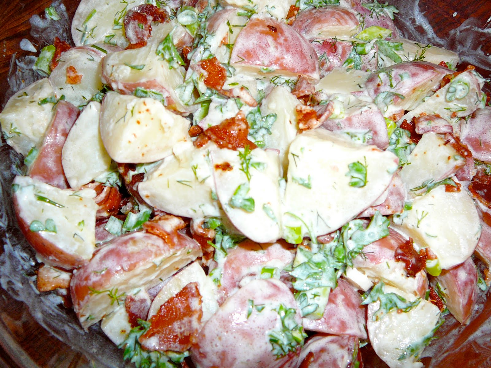 The Hidden Pantry: Red Potato Salad with Crispy Bacon and Dill