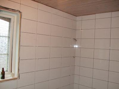 VINTAGE STYLE: Oppussing badet -fliser og m?bler