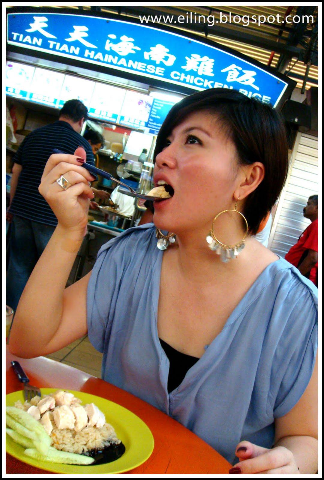 3iLinG: Tian Tian Hainanese Chicken Rice @ Maxwell Foodcourt