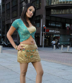 Trisha Hot Navel Show