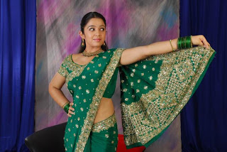 Charmi in Saree - Sexy Photos