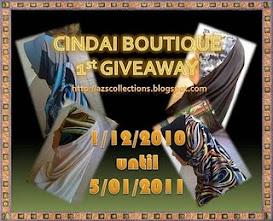 ~Cindai Boutique  1st Giveaway~