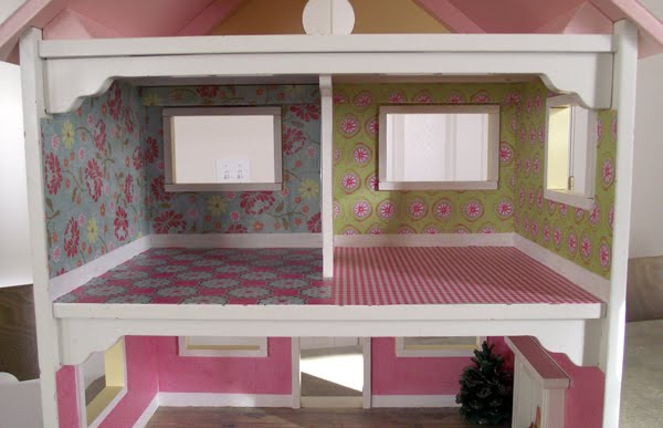 Paper Dollhouse Templates
