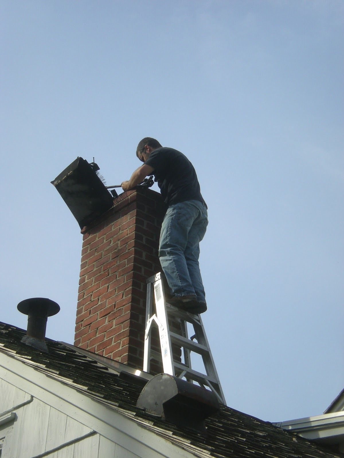 Jarvis House Jarvis House Chimney Gets A Cleaning