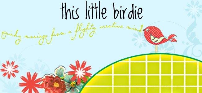 this little birdie