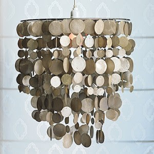 Make a Capiz Chandelier - How to x
