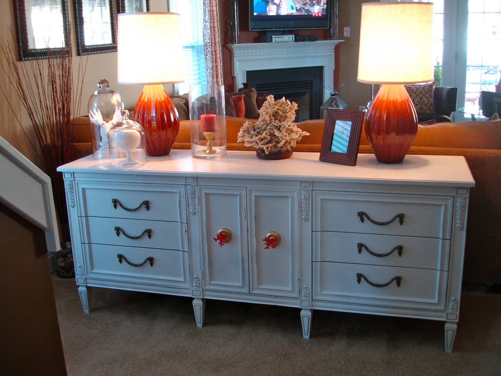 Dwellings By DeVore Sofa Table Dresser