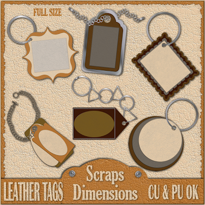 Leather Tags - By: Scraps Dimensions SD+CU+LEATHER+TAGS+PREVIEW
