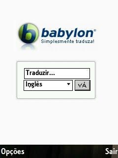 Babylon Tradutor em Português
