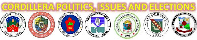 Cordillera Articles:  Politics, Issues And Elections
