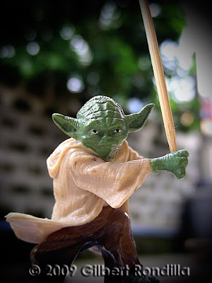 Master Yoda acrion figure, Philippines