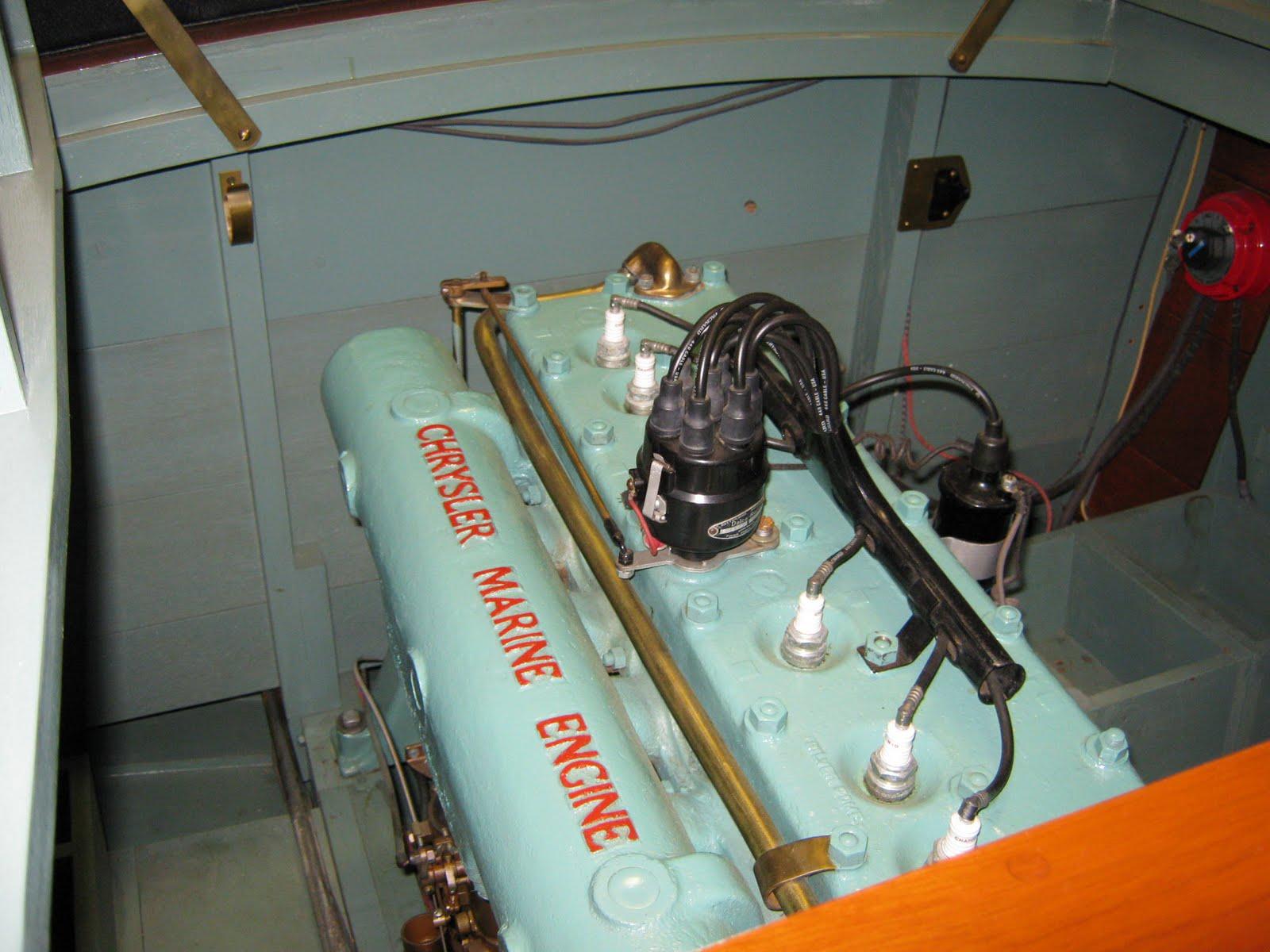 Chrysler Marine engine