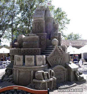 Beautiful Sand Castle
