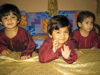 alya, niesa, syasya 2 tahun