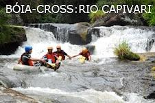 Bóia-cross no Rio Capivari 1:30 hs dentro do rio.