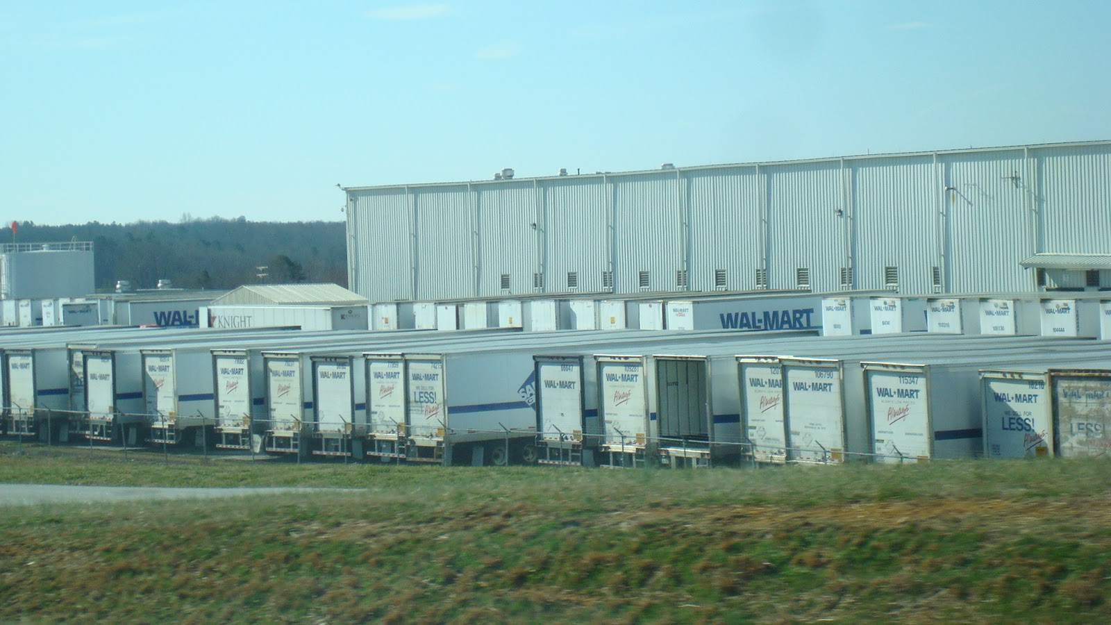 ron s road trips walmart distribution center walmart distribution center