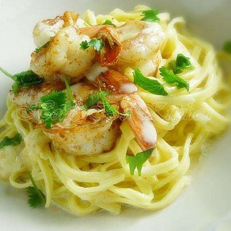 seafood linguini Recipe - Seafood Recipes