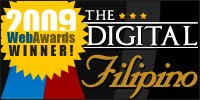 2009 Digital Filipino Web Awards Logo