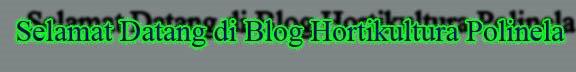 HORTIKULTURA (POLITEKNIK NEGRI LAMPUNG)